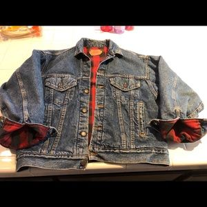 Levi's vintage denim lined jacket